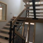 modern style staircase