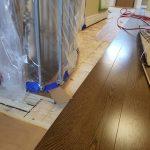 Oakville flooring job
