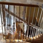curved stair nosing installation